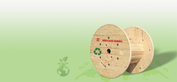 HELUKABEL® do Brasil lança campanha, em parceria com seus clientes, para resgatar e reutilizar suas bobinas de madeira para cabos