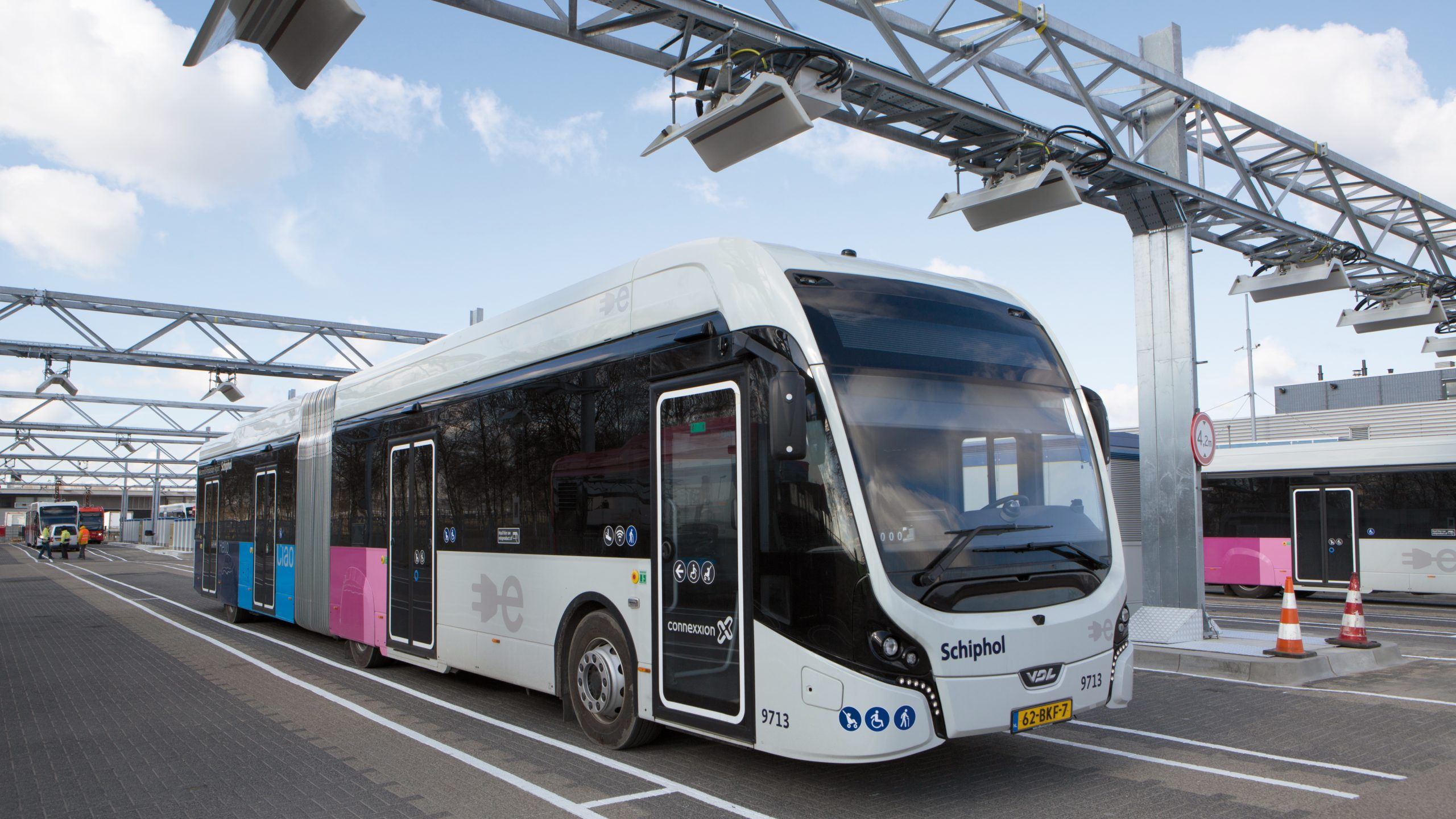Carregamento rápido para ônibus elétricos